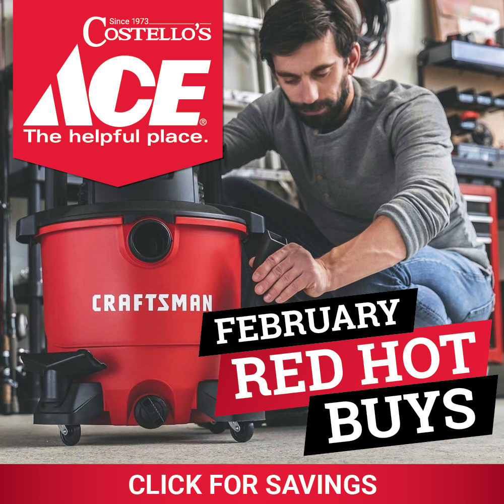 February Red Hot Buys - Costello's Ace