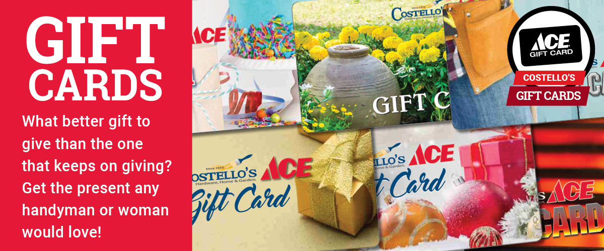 Gift Cards - Costello's Ace